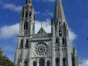 Chartres Cathedral; Fresneau worked at the choir school here late in his career