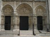 Chartres Cathedral Westfront