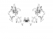 Rorschach black on white