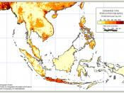 Population Densities in Southeast Asia