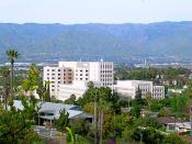 English: Photo taken of the Loma Linda University Medical Center from