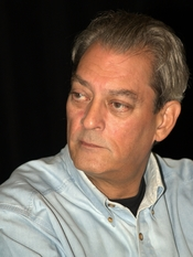 English: Paul Auster at the 2010 Brooklyn Book Festival.
