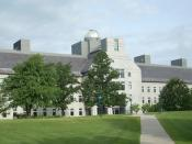 English: John M. McCardell, Jr. Bicentennial Hall at Middlebury College, Middlebury, Vermont, USA.