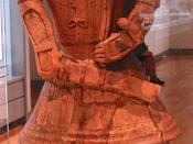 Kofun soldier, 5th century Japan.