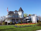 English: Photo of Overton Funeral Home, Inc - Islip, NY