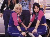 Clockwise from top left: Lita Ford, Sandy West, Jackie Fox, Joan Jett and Cherie Currie