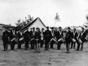 English: Union Regimental Drum Corps from the American Civil war.