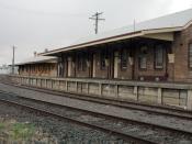 English: Moree Railway Station, Moree New South Wales Australia