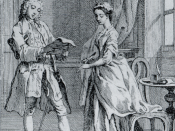 Pamela, or, Virtue Rewarded (1742). Mr B reads Pamela's letter.