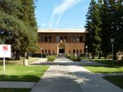 English: Old Administration Building, Fresno City College, Fresno, California, USA.
