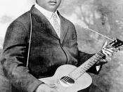 Photograph of Blind Lemon Jefferson