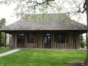 English: Old Cahokia Courthouse, Cahokia, Illinois