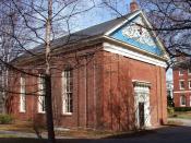 Holden Chapel, Harvard University, Cambridge, Massachusetts, USA.