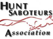 The logo of the Hunt Saboteurs Association UK.