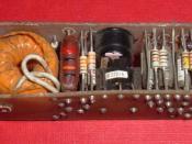 A cordwood module.