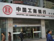 A Shanghai branch of Industrial and Commercial Bank of China, largest in the world.