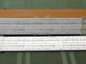Vintage 10-Inch Acumath Slide Rule by Sterling, Plastic, Model No. 400, Made in the USA