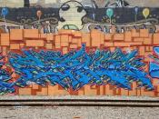 Ryno Oakland Yard Graffiti Art