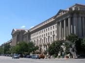 English: The headquarters of the United States Environmental Protection Agency in Washington, D.C. Photographed on August 12, 2006 by user Coolcaesar. Español: La sede de la Agencia de Proteccion Ambiental de los Estados Unidos - Washington D.C.