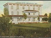 Victoria Hotel, Beaverton, Ontario, Canada (1910)