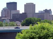 Downtown Dayton in 2007