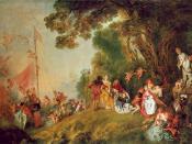 Antoine Watteau - Pilgrimage to Cythera - WGA25454