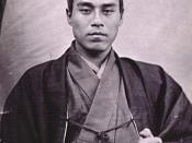Fukuzawa Yukichi. Photograph taken during his trip to Paris in 1862.