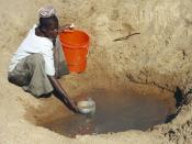 English: Mwamanongu Village water source, Tanzania.