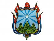 English: The official seal of the Cuban province of Oriente, one of the original six provinces of Cuba until 1976.