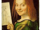 English: Ritratto di fanciullo con disegno (