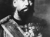 Emperor Meiji of Japan (1852-1912)