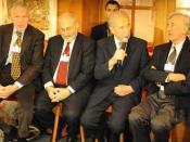 Edmund Phelps, Joseph Stiglitz, Shimon Peres, Elie Wiesel.