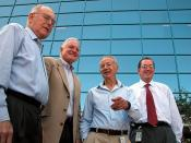 Intel CEOs Gordon Moore Craig Barrett Andy Grove Paul Otellini