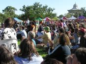 English: A public broadcast of Kevin Rudd's formal apology to the Stolen Generations at Elder Park, Adelaide.