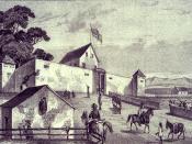 Sutter's Fort -- New Helvetia, ca. 1849