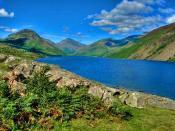 English: Wastwater, Lake District, England.