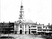 First Congregational Church, Central Square, Keene New Hampshire