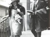 English: Frederick G. Banting and Marion Robertson Banting on their wedding day.