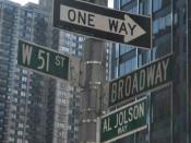 English: Jolson Way