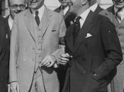 Entertainer Al Jolson with President Calvin Coolidge