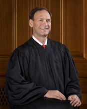 Official 2007 portrait of U.S. Supreme Court Associate Justice Samuel Alito