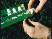 Homeowners are encouraged to test their soils for nutrient needs, and to apply only what nutrients are needed for a healthy lawn. Farmers practice the same testing procedure.