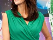 English: Teri Hatcher at the World of Color Premiere Disney California Adventure