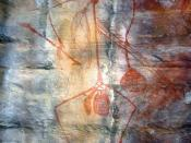 English: Aboriginal Rock Art, Ubirr Art Site, Kakadu National Park, Australia