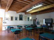 Italiano: La sala Pietro Barilla del circolo Famija Pramzana di Parma.