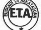 The sign of Euskadi Ta Askatasuna, the basque independentist and socialist armed group