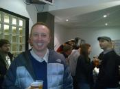 Benito at the Billy Bragg gig