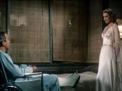 Cropped screenshot from the trailer for the film Rear Window