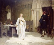 Lady Godiva: Edmund Blair Leighton depicts the moment of decision (1892)