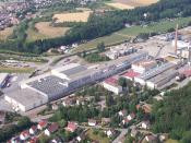 English: Stora Enso Baienfurt Mill Deutsch: Stora Enso Werk Baienfurt